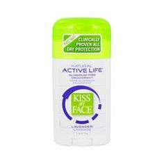 Kiss My Face natural active life lavender stick deodorant
