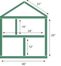 simple dollhouse plans free | Details about Easy EX LARGE DOLLS HOUSE PLANS 3 DIFF PLANS +BONUSES