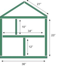 1000 Ideas About Doll House Plans On Pinterest Doll