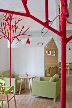 Kale Café in Binjiang, Hangzhou, by YAMO Design