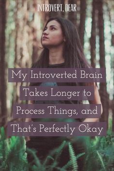 As an introvert, it's hard for me to respond quickly, but I'm a master at peeling back the layers of an idea until I understand it completely. Introvert Love, Introvert Humor, Introvert Problems, Infj Infp, Extroverted Introvert, Personality Psychology, Infj Personality, Infp Quotes, Mental Health Matters