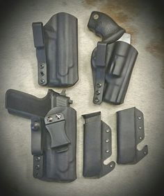 A little Saturday morning project. Sig Sauer P229 and Taurus 38 Special in the Ultra Carry 2.0 IWB Holster from WW Tactical Systems.