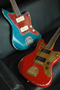 Made in Japan SCOOP CREATION WORKS modified Jazzmasters