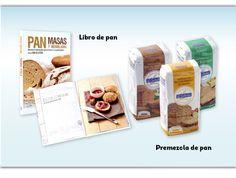 Recetario de recetas de pan y premezclas para hacer pan