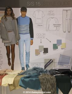 key items for the spring summer 2015 Streamline fashion trend forecast as seen on The Key To Chic