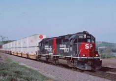 SP9751, Bonner Springs, KS Freight Transport, Rail Transport, Model Trains Ho Scale, Train Wallpaper, Milwaukee Road, Union Pacific Railroad, Burlington Northern, Railroad Photography, Norfolk Southern