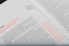 rasmus und christin is a graphic design studio that is based in Hamburg, Germany. Graphic Design Projects, Graphic Design Studios, Print Design, Editorial Design, Editorial Layout, Text Layout, Typography Letters, Typography Design, Lettering