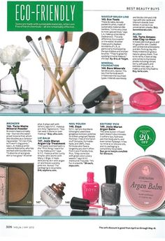 Eco-Friendly Beauty Products - Style - NAILS Magazine