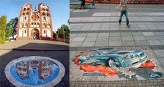 Oustanding Street 3d art   Curious, Funny Photos / Pictures