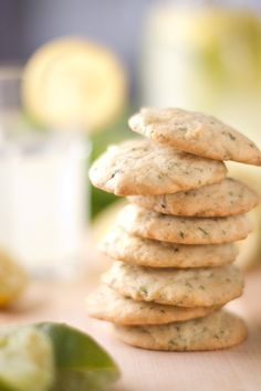 Cinnamon Basil Lime Cookies --- these sound yummy!!!