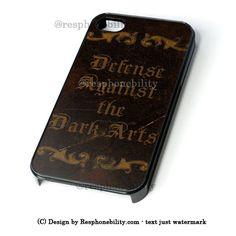 Harry Potter Inspired Defense Against The Dark Arts iPhone 4 4S 5 5S 5 – Resphonebility