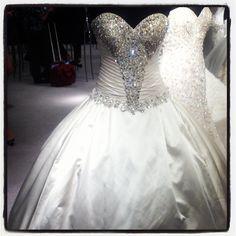 Blinged Out Wedding Dresses | ... Details | Wedding Planning, Ideas & Etiquette | Bridal Guide Magazine