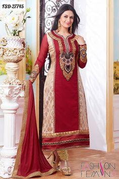 Buy latest designer bollywood salwar suits collection online at fashionfemina.com  #salwarsuits #womensclothing #salwarkameez #womensfashion #fashionfemina #bollywoodsalwarsuits