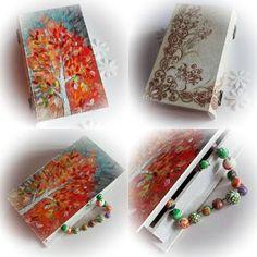 handmade by anca: toamna Jewelries, Handmade Jewelry, Tableware, Hip Bones, Dinnerware, Dishes, Hand Print Ornament, Handmade Jewellery, Diy Jewelry