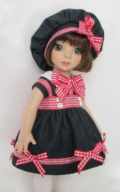 """PATSY'S A DENIM DELIGHT! FOR 10"""" ANN ESTELLE, ETC. MADE BY SSDESIGNS"""