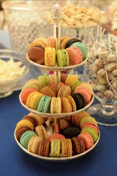 Coloured macaroons by Laduree. Not exactly cake but an alternative?