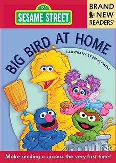 Big Bird At Home, Brand New Readers By Ernie Kwiat, 9780763651480., Literatura dziecięca