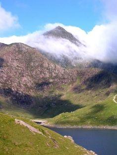 """Celtic:  Mount Snowdon (Welsh Yr Wyddfa - """"The Tumulus""""), Gwynedd, Wales."""