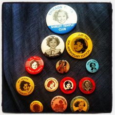 Shirley Temple Pin Collection