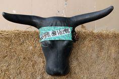Hell On Heels Headband by DoubleSRodeoCo on Etsy, $15.00