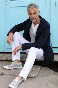 Older Mens Fashion, Mens Fashion Suits, Fashion Pants, Fashion Menswear, Men's Fashion, Casual Fashion For Men Over 50, Fashion Clothes, Stylish Men Over 50, Old Man Fashion