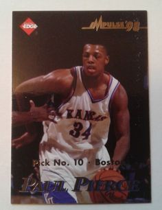 c23e9599ce1 1998 Collector s Edge Paul Pierce  6 Basketball Card for sale online