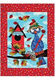 Fall for All Low-Sew Wall Hanging Pattern