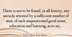 David Hume Quotes About Learning - 40790
