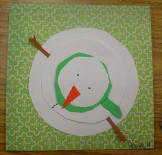 Mrs. Knight's Smartest Artists: 5th grade color studies underway... (+ snowmen)