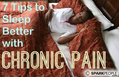 Sleeping Soundly with Chronic Pain | via @SparkPeople