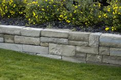 Frontier Dry Stack Retaining Walls traditional