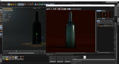 Creating Animated Water Droplets On A Bottle In Cinema 4D, X-Particles, and…