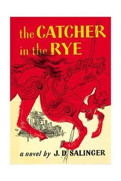 Art Print: Catcher in the Rye by E. Michael Mitchell : 24x16in