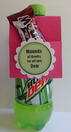 Volunteer Recognition - mounds of thanks for all you dew
