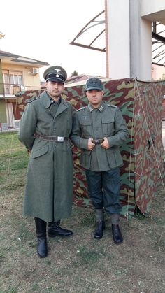 Waffen ss (karl) and soldier wh (klaus) Normandie44 Graffignana 2016