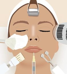 Few people would deny that medical aesthetic treatments have the power to change up your look (albeit temporarily). Skin Care Spa, Face Skin Care, Bb Beauty, Beauty Skin, Beauty Salon Logo, Skin Clinic, Chemical Peel, Salons, Fancy