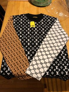 Gucci Fabric, Long Sleeve Tee Shirts, Fendi, Cute Outfits, Searching, Mens Fashion, My Style, Sleeves, Lv Shoes