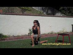 Quick Fat Burning Kettlebell Workout, just 5 min. with Kettlebell cutie, Lauen Brooks.  =)!
