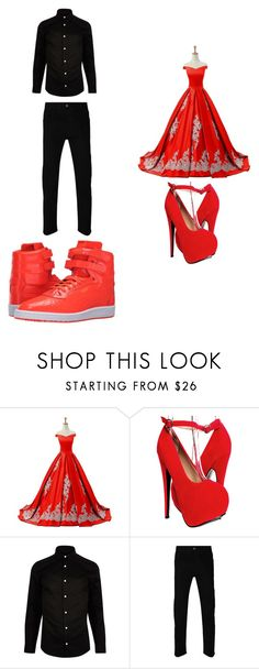 """""""Untitled #252"""" by kassidyrobinson on Polyvore featuring Reception, River Island, Gucci and Puma"""