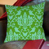 Found it at Wayfair - Francie Damask Printed Polyester Throw Pillow