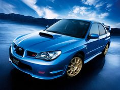 2006 Subaru Impreza WRX sti - my all time favorite modern car and my choice for when I become a rally driver