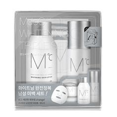 [MdoC] Whitening 2in1 Skin Toner Serum + Mist + Mask Pack Men's Cosmetic Set #MdoC