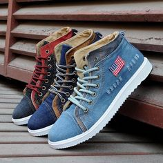 New Summer Style Men Shoes Fashion Canvas Shoes,Print Flats ,Breathable Sneakers Men Lace-up man's sneakers shoes Mens Fashion App, Womens Fashion Sneakers, Sport Fashion, Casual Boots, Casual Sneakers, Lightweight Hiking Boots, Runners Shoes, Mens Snow Boots, Mens Fashion Sweaters