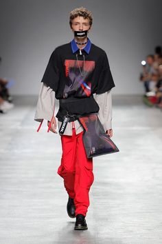 Male Fashion Trends: Sangue Novo Spring-Summer 2018 - Moda Lisboa