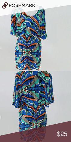 Silk Print Dress Silk Dress with polyester lining AKIRA Dresses Midi
