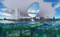 """The winning design by Michael Maltzan Architecture for the international St. Petersburg Pier contest has created a stunning, sustainable structure linking the community with its proximal water environment. The design titled """"Lens"""" reflects on the relationship between the pier and the underlying bay beyond.  Aspects of the circular looping design include multilevel vantage points of the bay as well as paths for walkers, bikers, and tram riders. The massive layout includes an open air…"""