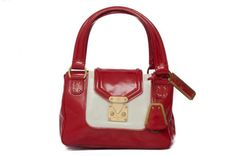 Limited-Edition-Louis-Vuitton-Red-White-Patent-Leather-Cruise-2002-2003-Bag