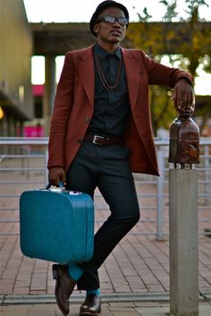 Anthony Bila sets the benchmark for South African street style bloggers.