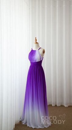 Purple Outfits, Purple Dress, Blue Dresses, Casual Dresses, Formal Dresses, Ombre Bridesmaid Dresses, Bridesmaids, Wedding Dresses, Pyramid Collection