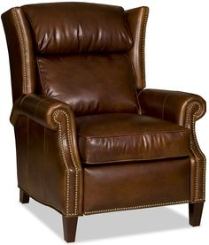 Wing Back Leather Recliner Chair Www.fineleatherfurniture.com Reclining  Sofa, Wing Chair,